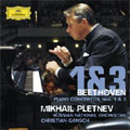 Beethoven: Piano Concertos No.1 Op.15, No.3 Op.37 / Mikhail Pletnev(p), Christian Gansch(cond), Russian National Orchestra
