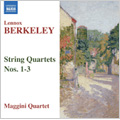 Berkeley: String Quartets No.1-3 / Maggini Quartet