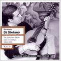Giuseppe di Stefano -The Complete Italian Radio Recordings 1952-56: Puccini, Donizetti, Ponchielli, etc / Alberto Paoletti(cond), Rome RAI Orchestra, etc