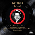 Delibes:Lakme (7/1952) :Georges Sebastian(cond)/Chorus and Orchestra of the Opera-Comique, Paris/etc