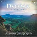 Dvorak: Complete Symphonies / Neeme Jarvi(cond), Scottish National O, Jiri Belohlavek(cond), Czech PO, etc