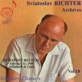 Sviatoslav Richter Archives Vol.18 - Budapest Recital February, 11, 1958