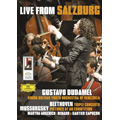 Live from Salzburg - Mussorgsky: Pictures at an Exhibition; Beethoven: Triple Concerto Op.56 / Gustavo Dudamel, Simon Bolivar Youth Orchestra of Venezuela, Renaud Capucon, etc