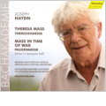 "Haydn: Theresa Mass (7/7-9/2007), Mass in Time of War ""Paukenmesse"" (1/1992) / Helmuth Rilling(cond), Oregon Bach Festival Orchestra & Chorus, Gachinger Kantorei Stuttgart, Stuttgart Chamber Orchestra, etc"