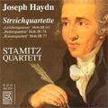 J.Haydn:String Quartets:Lerchenquartett Hob.III-63/Reiterquartett Hob.III-74/Kaiserquartett Hob.III-77:Stamitz Quartet