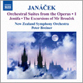 Janacek: Orchestral Suites from the Operas Vol.1 - Jenufa Suite, The Excursions of Mr.Broucek - Suite