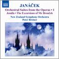 Janacek: Orchestral Suites from the Operas Vol.1 - Jenufa Suite, The Excursions of Mr.Broucek - Suite