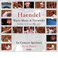 ヘンデル: 水上の音楽, 王宮の花火の音楽 / エルヴェ・ニケ指揮, コンセール・スピリチュエル