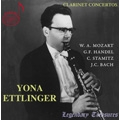 Yona Ettlinger - Mozart, C.Stamitz, Handel, J.C.Bach / Gary Bertini, Israel Chamber Orchestra, etc
