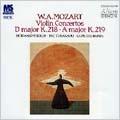 モーツァルト:ヴァイオリン協奏曲第5番 イ長調K.219《トルコ風》/第4番 ニ長調K.218