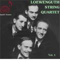 Loewenguth String Quartet Vol.1 (1945-1972) - Mozart: String Quartet No.14, 16, 17, 19 (x2; 1945 & 1972), Clarinet Quintet K.581; Haydn: String Quartet No.67, 76, 74 / Georgina Dobree(cl)