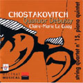 Shostakovich:Complete String Quartets Vol.6:String Quartet No.15/Piano Quintet:Claire-Marie Le Guay
