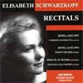 ELISABETH SCHWARZKOPF RECITALS -SCHUBERT/BRAHMS/RAMEAU/MOZART/ETC(1944-54):GIORGIO FAVORETTO(p)/ETC