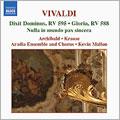 Vivaldi: Dixit Dominus, RV 595; Gloria, RV 588; Nulla in mundo pax sincera