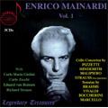 Enrico Mainardi Vol.1 -Brahms, Vivaldi, B.Marcello, Pizzetti, etc (1933-62) / Carlo Zecchi(p), Carlo Maria Giulini(cond), Turin RAI Orchestra, etc