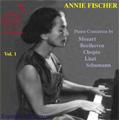 Annie Fischer Vol.1 -Piano Concertos by Mozart, Beethoven, Chopin, Liszt, Schumann, etc  [2DualDisc(PAL/NTSC)+CD]