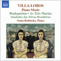 Villa-Lobos: Piano Music Vol.6 -Sul America, New York Sky Line Melody, As tres Marias, etc (3/2006) / Sonia Rubinsky(p)
