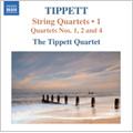 Tippett: Complete String Quartets Vol.1 - No.1, 2, 4 / Tippett Quartet