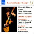 Gabriel Bianco - Guitar Recital: J.K.Mertz, J.S.Bach, N.Koshkin, etc