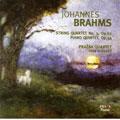 BRAHMS:STRING QUARTET NO.3 OP.67/PIANO QUINTET OP.34 :PRAZAK QUARTET/IVAN KLANSKY(p)