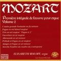 Mozart: Integrale de l'Oeuvre pour Orgue Vol.2 / Elisabeth Roloff