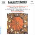 J.S.BACH:SACRED CANTATAS FOR BASS:ICH WILL DEN KREUZSTAB GERNE TRAGEN/ICH HABE GENUG/DER FRIEDE SEI MIT DIR:HELMUT MULLER-BRUHL(cond)/COLOGNE CHAMBER ORCHESTRA/HANNO MULLER-BRACHMANN(Bs-Br)/ETC