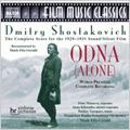 Shostakovich: Odna (Alone) Op.26 / Mark Fitz-Gerald(cond), Frankfurt Radio Symphony Orchestra, Frankfurt Vocal Ensemble, etc