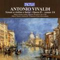 Vivaldi: Violin Sonatas Op.2 No.1-No.6 / Marco Serino, Marco Testori, Francesco Cera, etc
