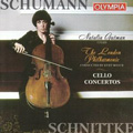 Schumann: Cello Concerto, Schnittke: Cello Concerto No.1 / Natalia Gutman, Kurt Masur, London Philharmonic Orchestra