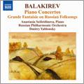 M.A.Balakirev: Piano Concertos No.1, No.2, Grande Fantaisie on Russian Folksongs Op.4 / Anastasia Seiftdinova, Dmitry Yablonsky, Russian PO