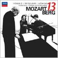 "Berg: Kammerkonzert; Mozart: Serenade No.10 K.361 ""Gran Partita"" (3/2008) / Mitsuko Uchida(p), Christian Tetzlaff(vn), Pierre Boulez(cond), Ensemble Intercontemporain"