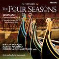 "Vivaldi : The Four Seasons Op.8 No.1-No.4; Geminiani : Concerto Grosso (After Corelli Op.5) No.4, No.12 ""La Folia""  / Christina Day Martinson(vn), Martin Pearlman(cond), Boston Baroque"