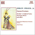 J. Strauss Jr.: Famous Overtures / Walter, Slovak State PO