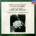 ヘンデル:6つのヴァイオリン・ソナタ タルティーニ:ヴァイオリン・ソナタ《悪魔のトリル》<初回生産限定盤>