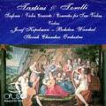 Tartini, Torelli: Violin Concertos / Jozef Kopelman, Bohdan Warchal, Slovak Chamber Orchestra