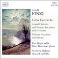 フィンジ:チェロ協奏曲/大幻想曲とトッカータ/エクローグ