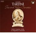 Tartini : Trio and Violin Sonatas -Trio Sonatas Op.6, 6 Sonatas Op.2 / Enrico Casazza(vn), Roberto Loreggian(cemb), La Magnifica Comunita