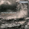 Mendelssohn: Complete Concertos -Violin Concerto Op.64, Concerto for Violin & Piano, Piano Concerto No.1 Op.25, etc / Lev Markiz, Amsterdam Sinfonietta, etc