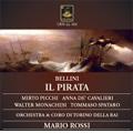 Bellini : Il Pirata (2/2/1958) / Mario Rossi(cond), Orchestra & Coro di Torino della RAI, Mirto Picchi(T), Anna de Cavalieri(S), etc