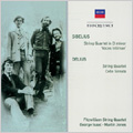 "Sibelius:String Quartet Op.56 ""Voces Intimae""/Delius:String Quartet/Sonata in one movement for Cello and Piano:Fitzwilliam String Quartet/George Isaac(vc)/Martin Jones(p)"