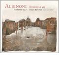 T.Albinoni: 6 Sinfonie a Cinque Op.2 - Sonatas No.1-No.6 / Chiara Banchini, Ensemble 415