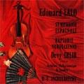 コレクターズ・シリーズ:ラロ:スペイン交響曲/ノルウェー狂詩曲:ドゥヴィ・エルリー(vn)/デジレ=エミール・アンゲルブレシュト指揮/LPO