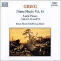 Grieg: Piano Works, Vol.10