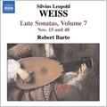 Weiss: Lute Sonatas Vol.7