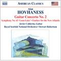 Hovhaness: Guitar Concerto No.2, etc / Javier Calderon(g), Stewart Robertson(cond), Royal Scottish National Orchestra