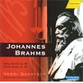 Brahms: String Quintet No.1 (11/20-22/2006), String Sextet No.2 (9/28-30/2007) / Verdi Quartet, Hermann Voss(va), Peter Buch(vc)