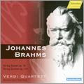 Brahms: String Sextet No.1 Op.18, String Quintet No.2 Op.111 / Verdi Quartet, Hermann Voss, Peter Buck