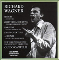 Wagner: Rienzi Overture (1/3/1953), Gotterdammerung -Siegfried's Rhine Journey (3/22/1953), Parsifal -Good Friday Music (4/1/1956), etc / Guido Cantelli(cond), NBC SO, NYP