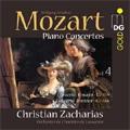 Mozart: Piano Concertos Vol.4 -No.19 K.459, No.20 K.466 (11/12-14/2007)  / Christian Zacharias(p/cond), Orchestre de Chambre de Lausanne