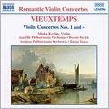 Vieuxtemps: Violin Concertos Nos 1,4